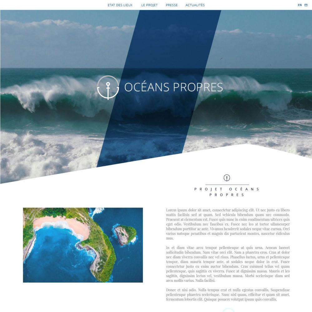 Océans propres